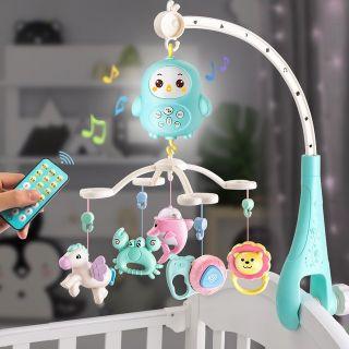Bộ đồ chơi treo nôi phát nhạc cho bé từ sơ sinh