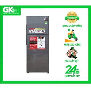 X316E DS - Tủ lạnh Sharp Inverter 287 lít SJ-X316E-DS