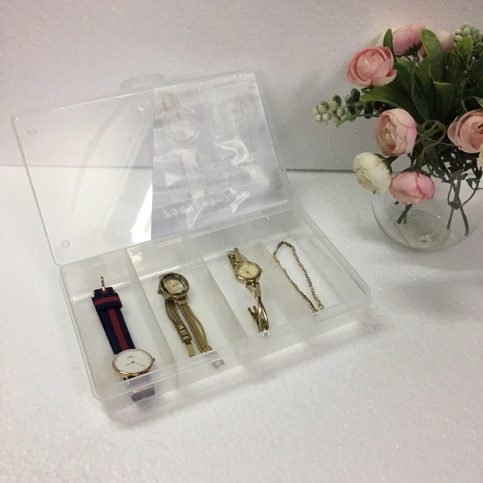 Hộp đựng trang sức, đồng hồ 4 ngăn - 2965802 , 413018107 , 322_413018107 , 45000 , Hop-dung-trang-suc-dong-ho-4-ngan-322_413018107 , shopee.vn , Hộp đựng trang sức, đồng hồ 4 ngăn