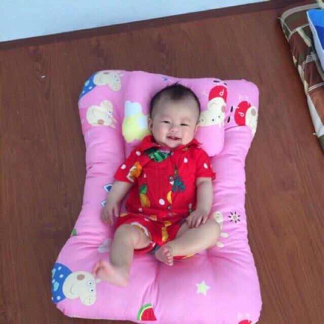 Bộ nệm gối cho bé sơ sinh dày 10cm