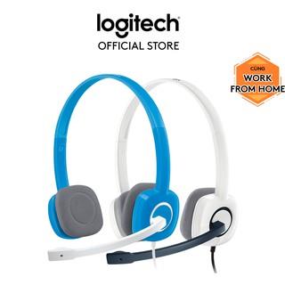 Tai nghe chụp tai LOGITECH H150 (2 Giắc)-Âm thanh nổi thumbnail