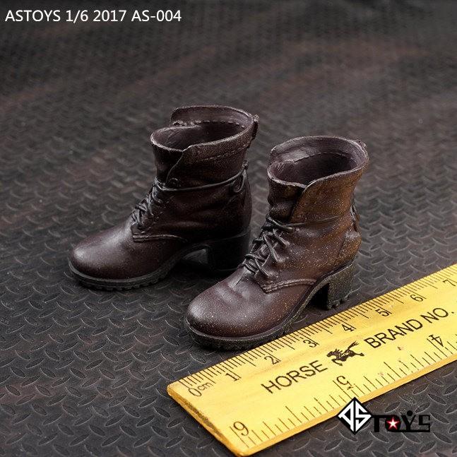 Tuyệt vời mmq06❤ASTOYS 1/6 AS004 Avengers shoes Giày nữ mang điểm nhấn cổ điển