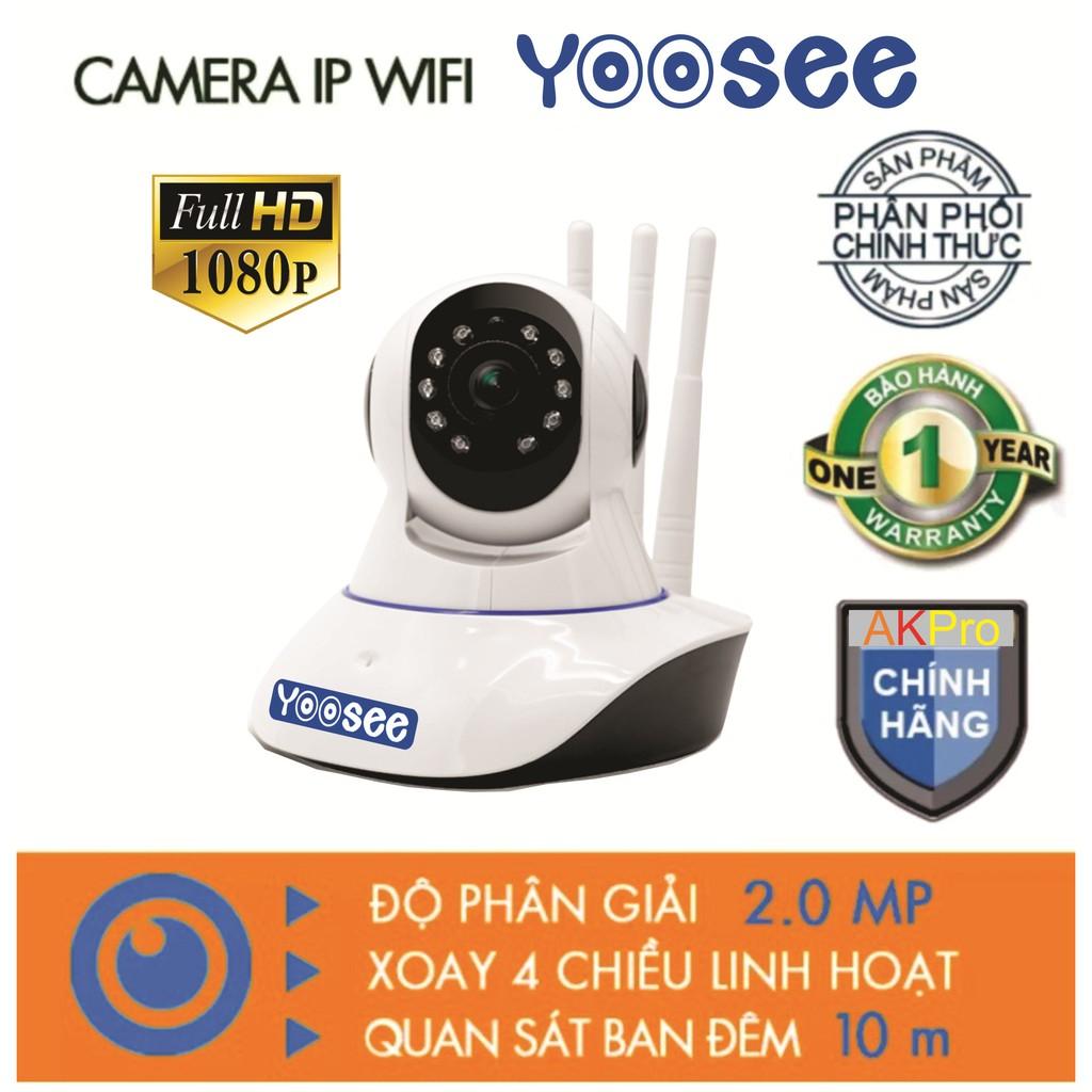 Camera IP YooSee 3 Anten 2.0mpx FHD1080P - 3190719 , 1314538284 , 322_1314538284 , 599000 , Camera-IP-YooSee-3-Anten-2.0mpx-FHD1080P-322_1314538284 , shopee.vn , Camera IP YooSee 3 Anten 2.0mpx FHD1080P