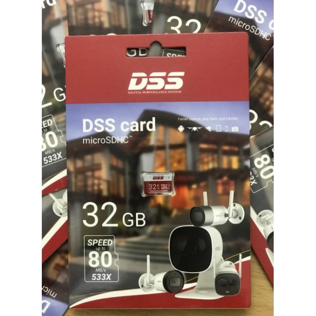 Thẻ nhớ 32GB Micro SD DSS - hàng chính hãng