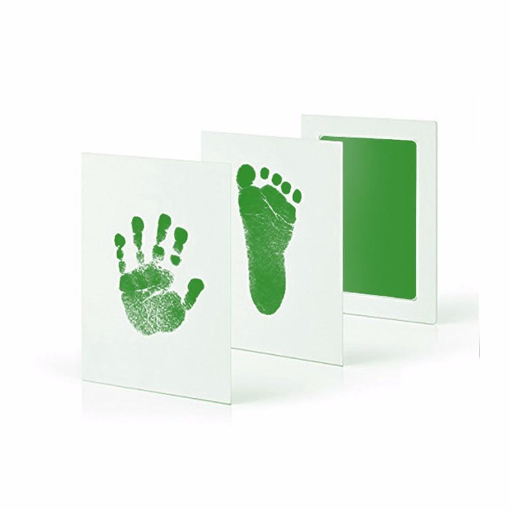 Baby Handprint Footprint Non-Toxic Imprint Hand Inkpad Casting Clay Toys Gift