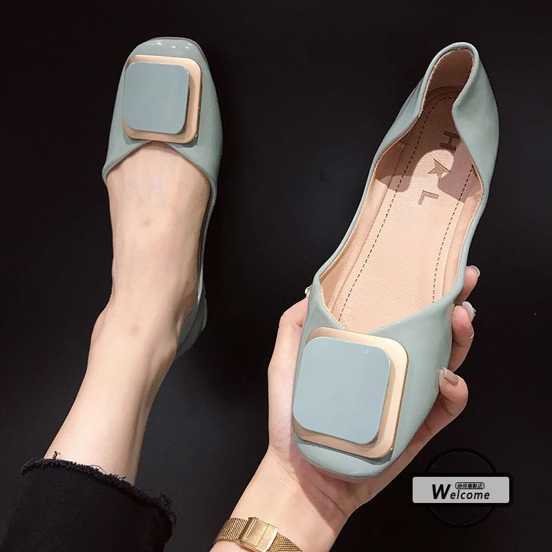 giày búp bê mũi vuông thời trang cho nữ