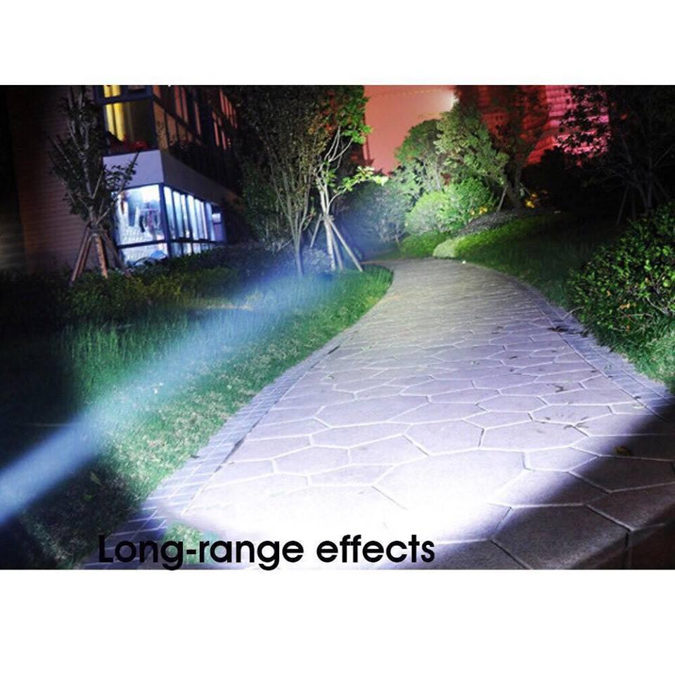Đèn Pin UV Led 100 bóng 18W sấy keo uv, soi tiền, tìm vật trú ẩn cầm tay tiện dụng