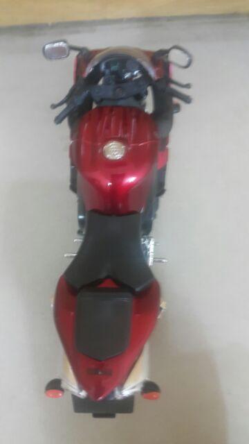 Xe mô hình Yamaha r1 exup đỏ 1:12 newray