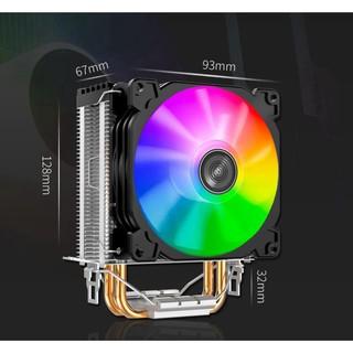 ☑ Quạt tản nhiệt CPU Jonsbo CR1200 Led đảo màu tự động, quạt 9cm giá tốt