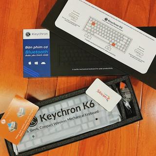 Keychron k6 Hotswap – Bàn phím cơ Keychron K6 RGB – Case nhôm