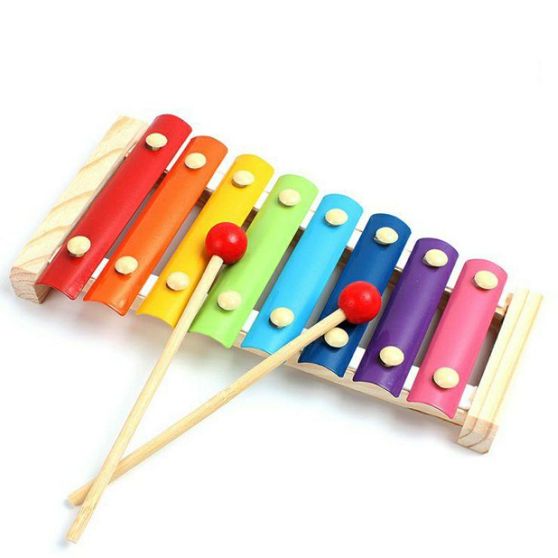 Nhạc cụ Đàn Gõ Xylophone 8 Thanh – Đồ chơi thông minh cho bé