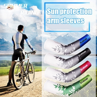 CSC Men Cooling Arm Sleeves Cover Cycling Run Fishing UV Sun Protection Outdoor Arm Sleeves @VN
