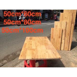 Gỗ làm mặt bàn, gỗ làm tủ [100%gỗ KHÔNG THẤM NƯỚC ] gỗ cao su 12mm 5️⃣0️⃣✖️1️⃣2️⃣0️⃣