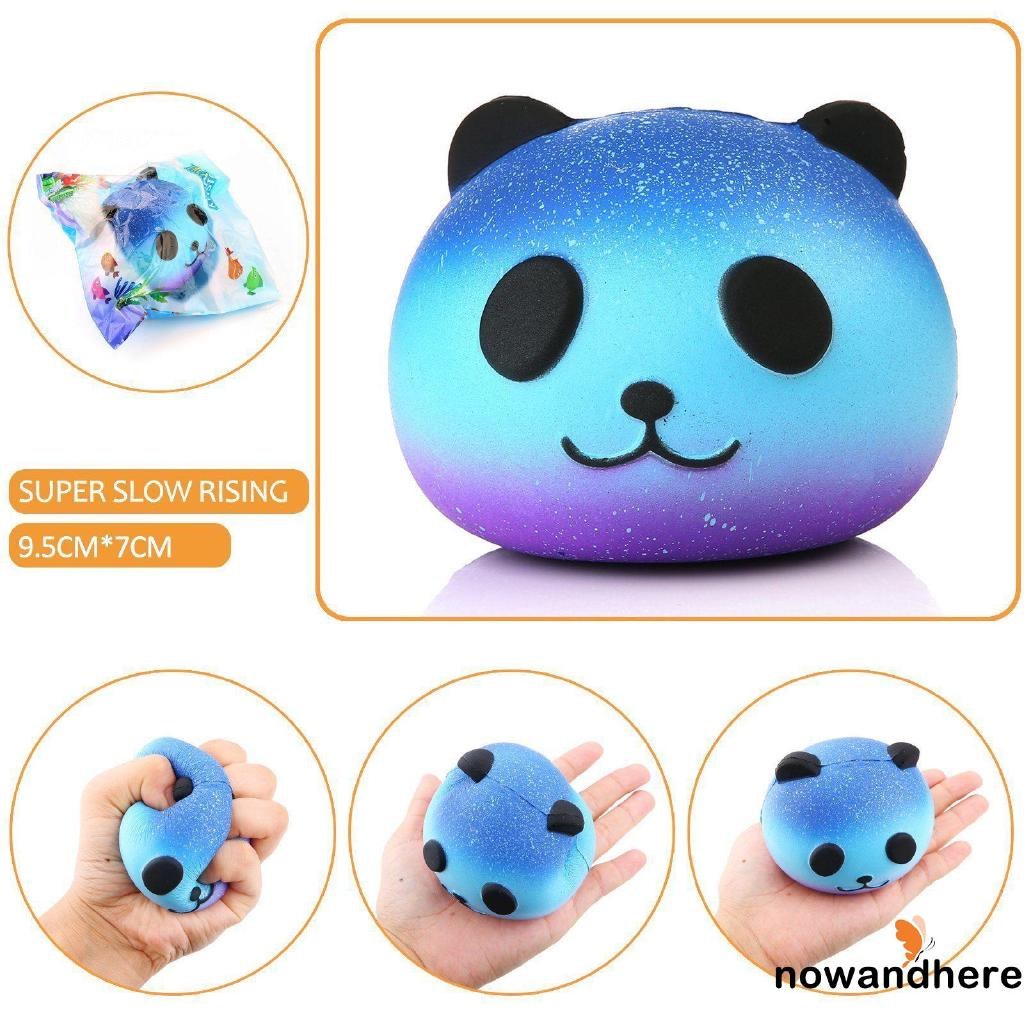 ERD-Fashion Panda Scented Squishy Slow Rising Cute Phone Straps Pendant Soft