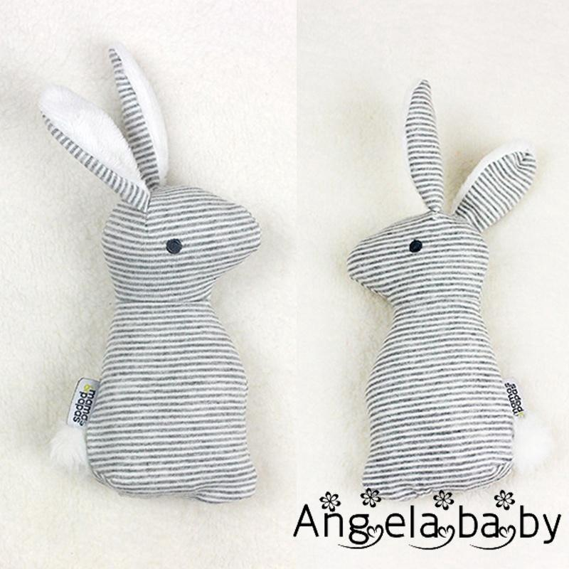 AGG-New Baby Cute Soft Animal Plush Rattle Infant Educational Gift Development