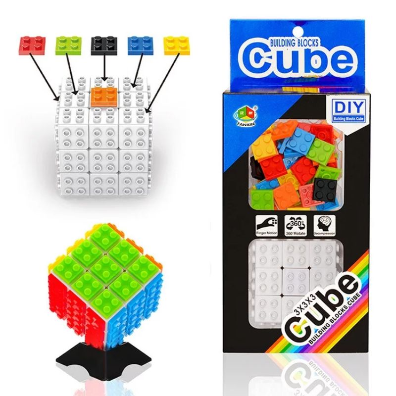 rubik 3×3 fanxin lego