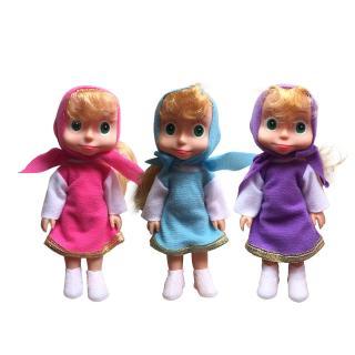 2019 Russian Masha Dolls Stuffed Toys Popular Birthday Gifts Bear For Kids