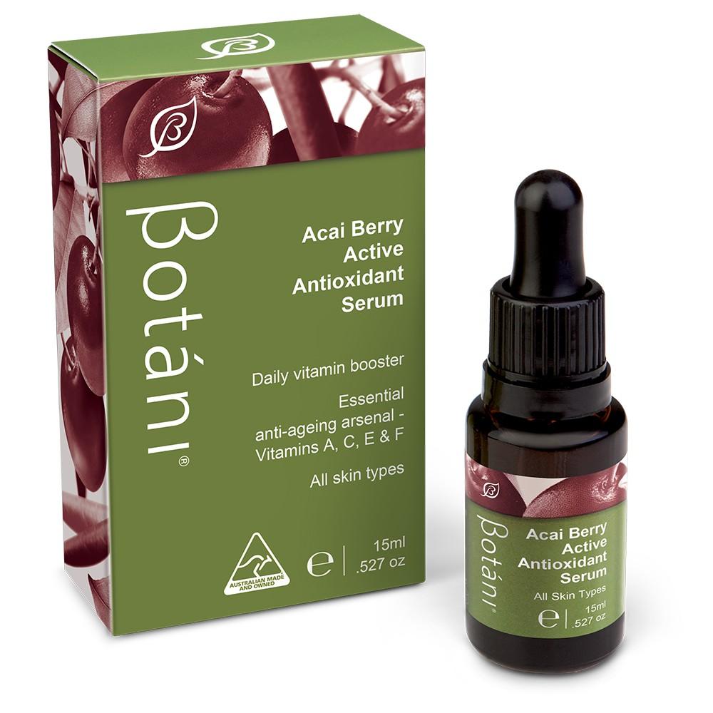 Tinh chất tăng cường chống lão hóa & sáng da Acai Berry Active Antioxidant Serum [15mL]