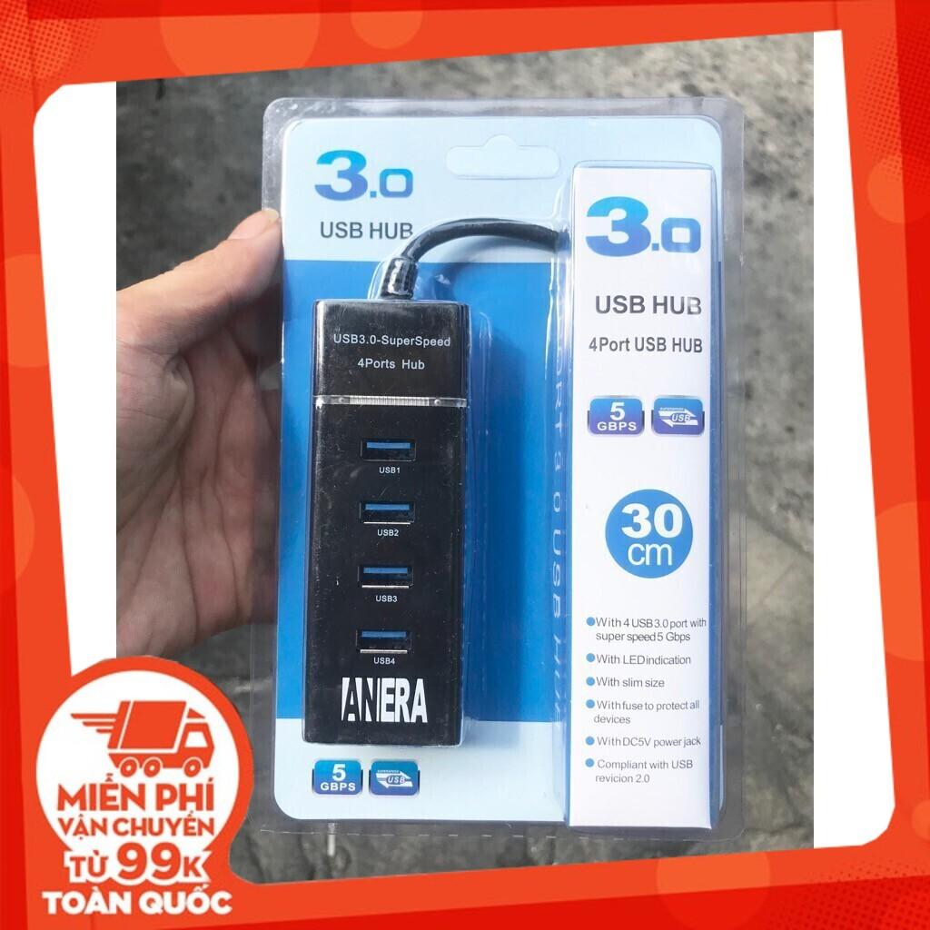 [Siêu Hot] Hub USB 4 Port 3.0 chính hãng
