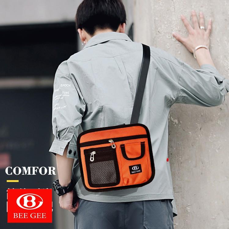 Túi đeo chéo nam nữ unisex túi messenger du lịch thời trang Hàn quốc HOT TREND 2020 Bee Gee 083