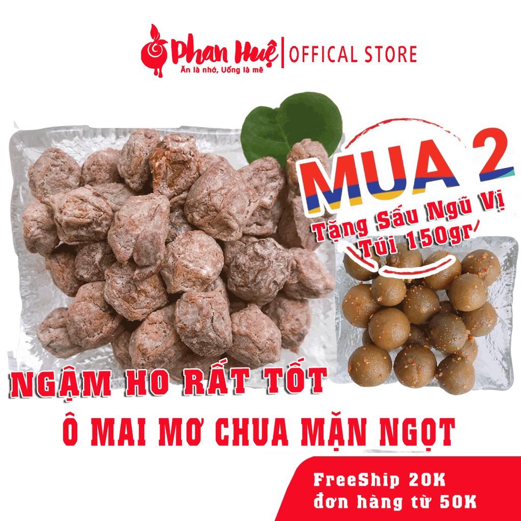Ô mai xí muội mơ chua mặn ngọt Phan Huệ đặc biệt, mơ miền Bắc chọn lọc, đặc sản Hà Nội
