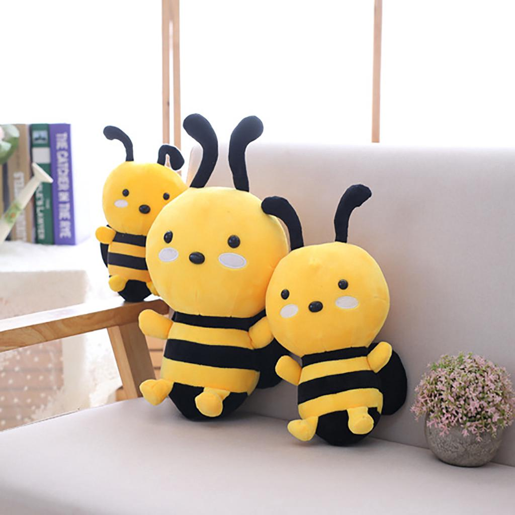 【COD】😺Soft Little Bee Animal Doll Stuffed Plush Toy Home Party Wedding Kid Gift