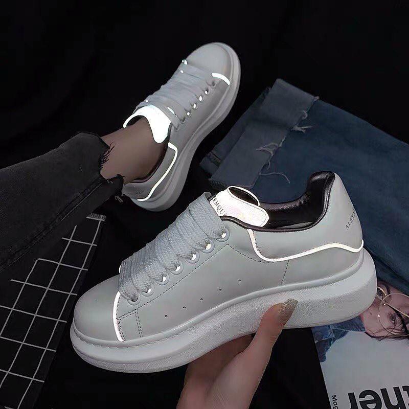 Giày thời trang cao cấp phản quang Alexander McQueen [ hot tr