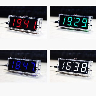 ♤SEL♤Digital LED Electronic Clock Learning Board Large Screen With