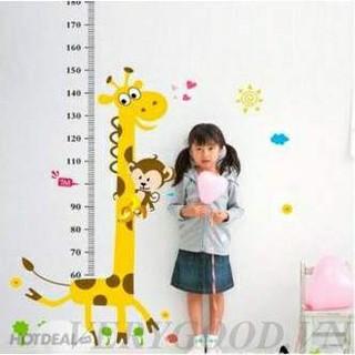Bán buôn 10 thước đo chiều cao hình thú cho bé