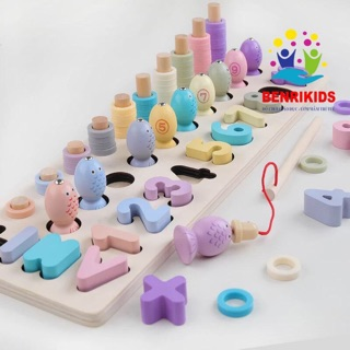 Bảng tính câu cá 3in1- đồ chơi giáo dục