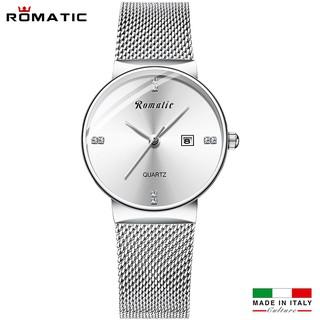 ĐỒNG HỒ NỮ ROMATIC ITALIA - DÂY TITANIUM SANG TRỌNG + TẶNG HỘP & PIN thumbnail
