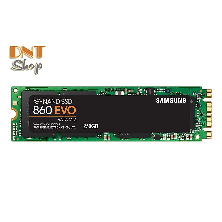 [Mã ELMS05 giảm 5% đơn 300k]Ổ cứng SSD Samsung 860 EVO 250GB M2 SATA Chính Hãng - BH 5 Năm 1 Đổi 1