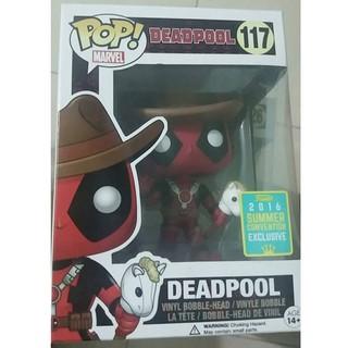 POP! Cowboy Deadpool #117 Summer Convention Exclusive