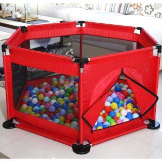 [LOẠI 1 KÈM BÓNG] Đồ chơi nhà banh cho bé Quây cũi cho bé Tặng kèm 10 trái bóng