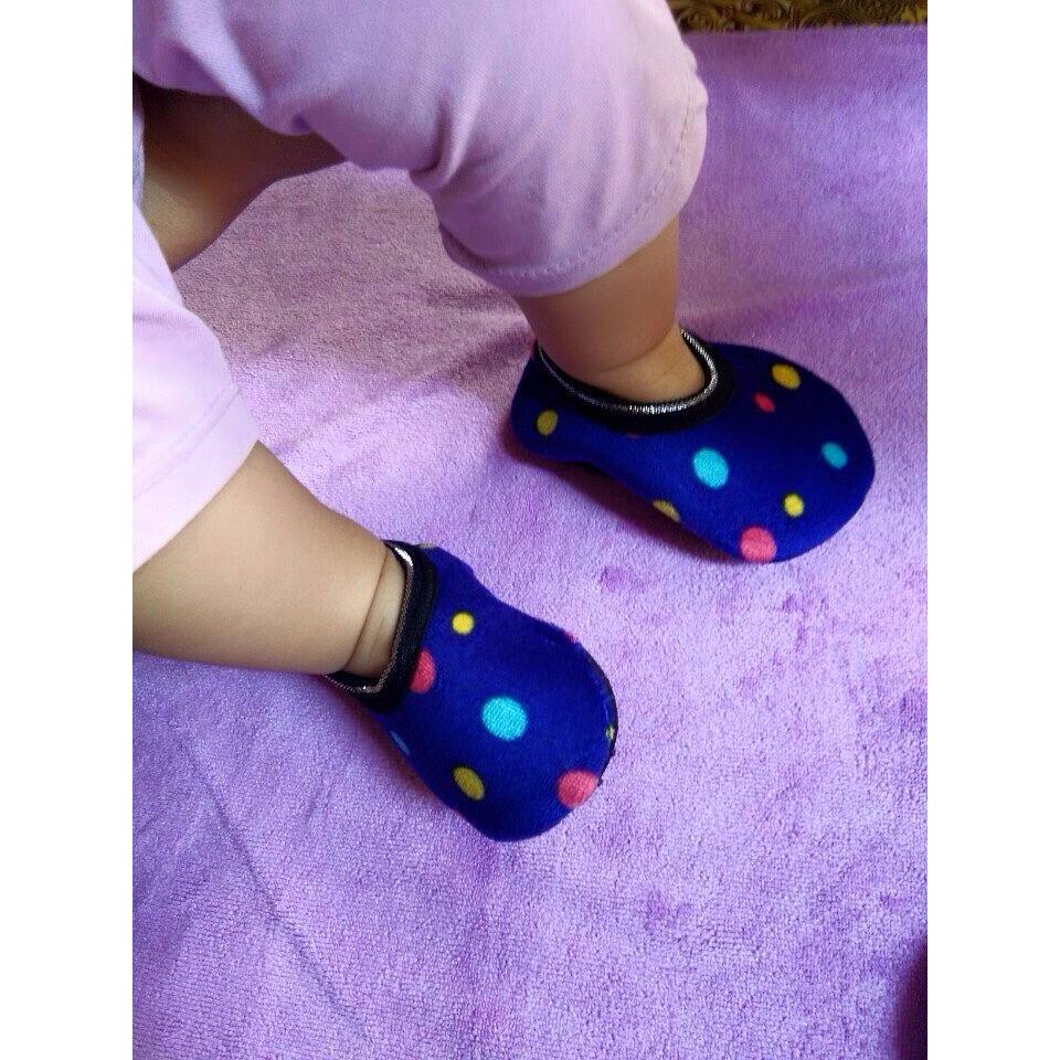 Combo 12 Đôi Giày Vải Lót Lông Cho Bé