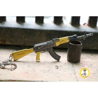 Móc khóa AKM màu vàng