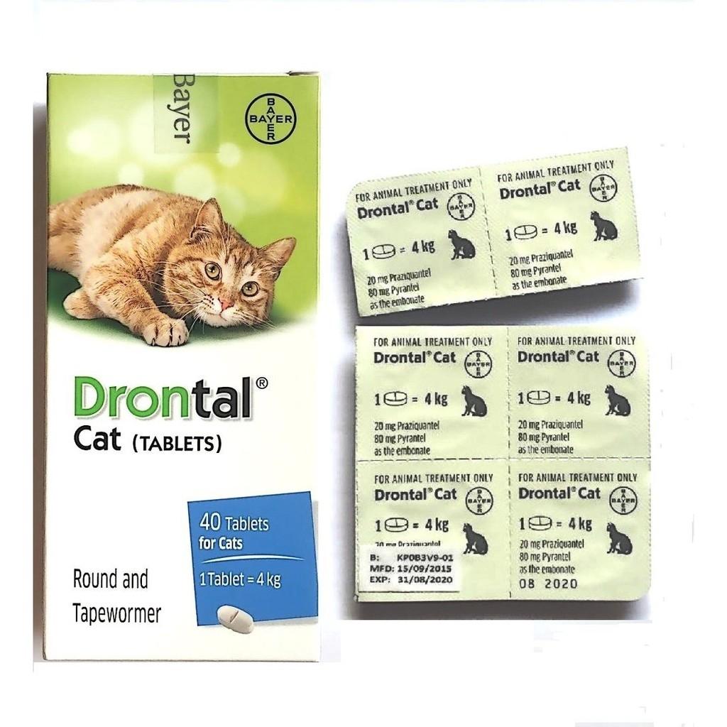 Thuốc Tẩy Giun Drontal Cho Mèo - 10049119 , 1035187008 , 322_1035187008 , 30000 , Thuoc-Tay-Giun-Drontal-Cho-Meo-322_1035187008 , shopee.vn , Thuốc Tẩy Giun Drontal Cho Mèo