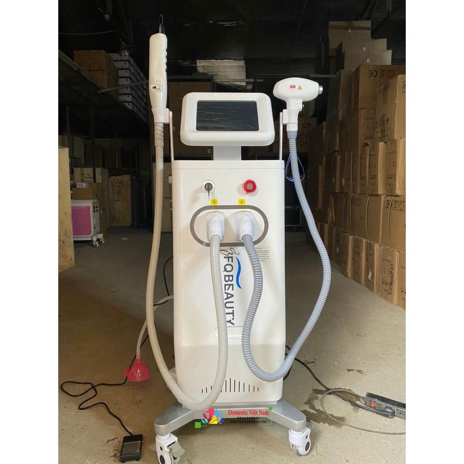 Máy 2in1 laser & triệt lông diode laser