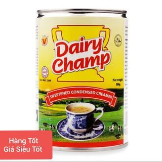 combo 06 lon sữa đặc có đường DAIRY CHAMP 500G/ lon