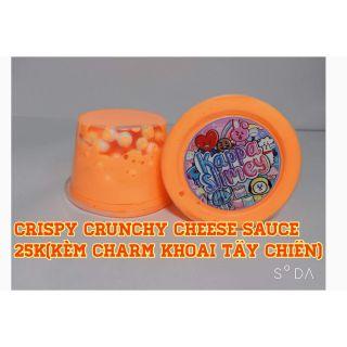 CRISY CRUNCHY CHEESE SAUCE