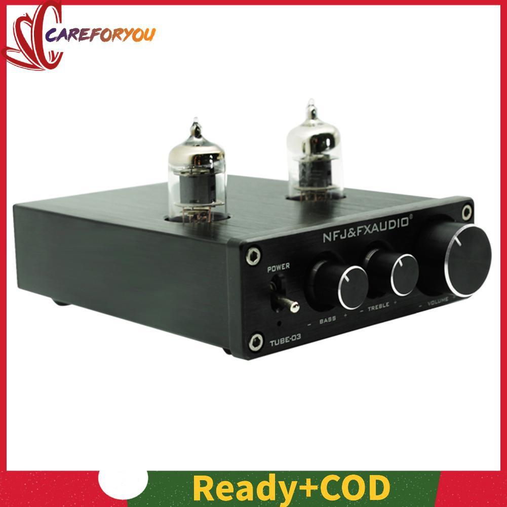 💚TUBE-03 HIFI Buffer 6J1 Tube Pre-amplifier Music Amplifier with Treble Bass