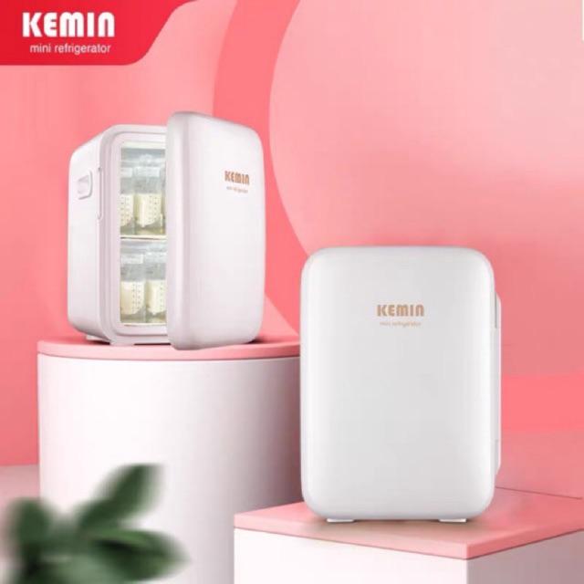 (Sẵn) tủ lạnh mini kemin 10L hàng nội địa trung quốc - video tự quay