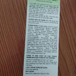 Dung dịch vệ sinh Lactacyd 150 ml- lá trầu không và nước hoa hồng 4