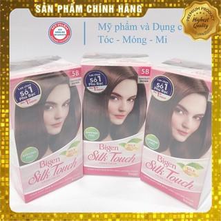 Thuốc nhuộm tóc Bigen Silk phủ bạc