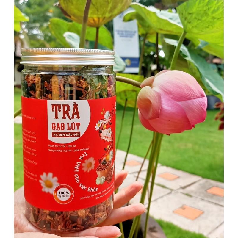 trà gạo lứt xạ đen đậu đen yến beauty giá rẻ