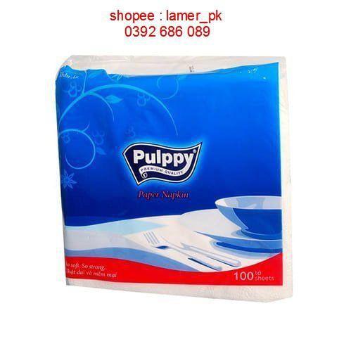 Khăn giấy vuông Pulppy 100M