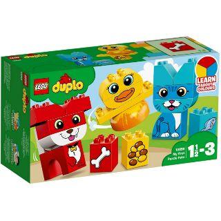 Đồ chơi Bộ Thú Cưng Đầu Tiên Của Bé LEGO Duplo 10858 (18 Chi Tiết)
