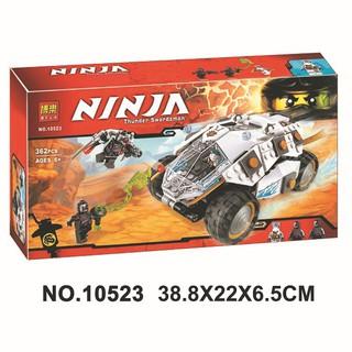 Đồ chơi lắp ráp lego ninjago xe titan của ninja zane phần season 7 Bela 10523