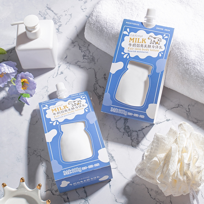 Fenyi Milk Body Lotion Nourishing For Dark Dry Skin 300g