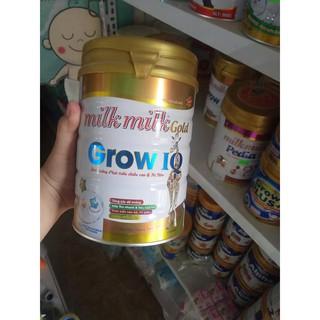 Sữa bột tăng trưởng chiều cao, trí não cho trẻ Grow IQ MIlkmilkgold 900g thumbnail
